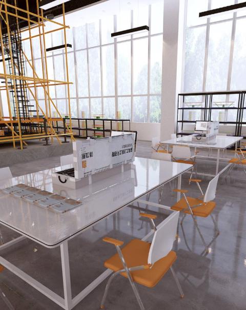 钢筋平法应用技能实训室整体解决方案